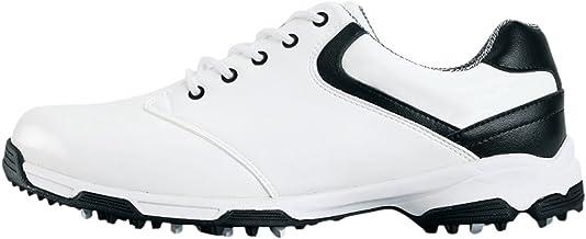 Anti-slip Waterdichte Golf Schoenen met Spikes voor Heren
