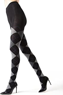 Campbell Argyle Sweater Tights | Women's Hosiery - Pantyhose
