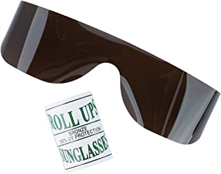 Bronze Roll-up Glasses - Eyecare Supplies - 25 per Pack