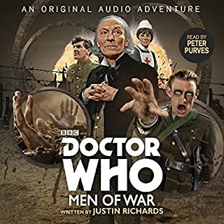 Doctor Who: Men of War                   De :                                                                                                                                 Justin Richards                               Lu par :                                                                                                                                 Peter Purves                      Durée : 1 h et 7 min     Pas de notations     Global 0,0