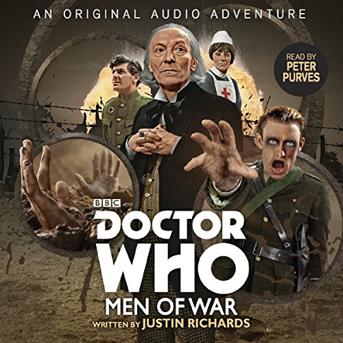 Doctor Who: Men of War audiobook cover art