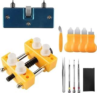 Beanlieve Kit d'outils De Réparation De Montres - Ouverture De Boîtier Réglable, Démonteur De Dos De Montre, Remplacement ...