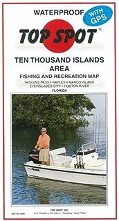 top spot inshore map