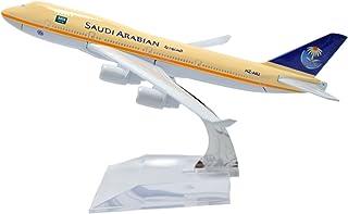 TANG DYNASTY 1/400 16cm サウディア航空 Saudi Arabian Airlines ボーイング B747 高品質合金飛行機プレーン模型 おもちゃ