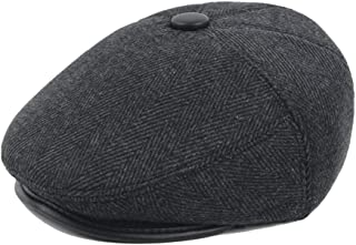 HaiNing Zheng Retro Beret Cap Winter Wool Ladies Cotton Male Middle-aged Casual Cap Warmth Cap