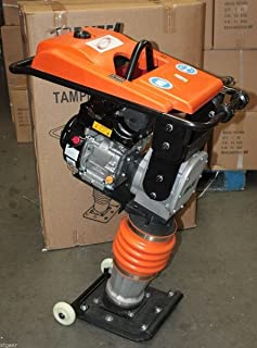 196CC 6.5HP Gas Power Dirt Tamper Rammer Jumping Jack Tamping Compactor