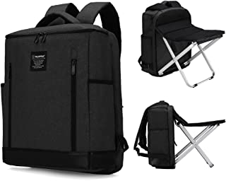 Dulcii Backpack Stool Combo Camping Backpack with Chair