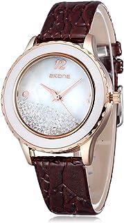 SKONE Brand ew Fashion Dress Women Watches Ladies Watch Leather Strap Wristwatches