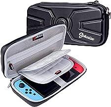 Koffer Voor Nintendo Switch - Draagtas Met 20 Gamecartridges, Zwarte Beschermende Draagbare Harde Hoes Met Reisspeltas