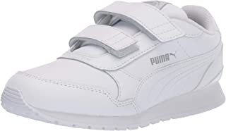 kids white runners