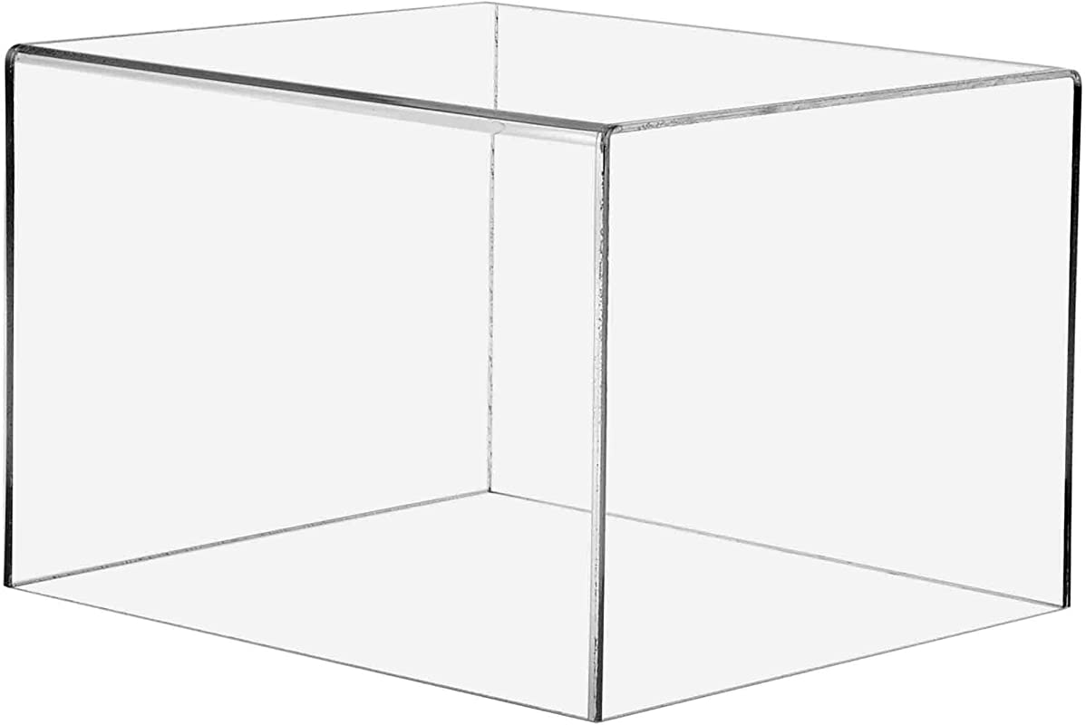 Marketing Holders Pedestal Art Gallery Display Sculpture Stand Trinkets Trophies Collectibles Cube Safety Cover Display 1 12 W X 10 D X 8 H