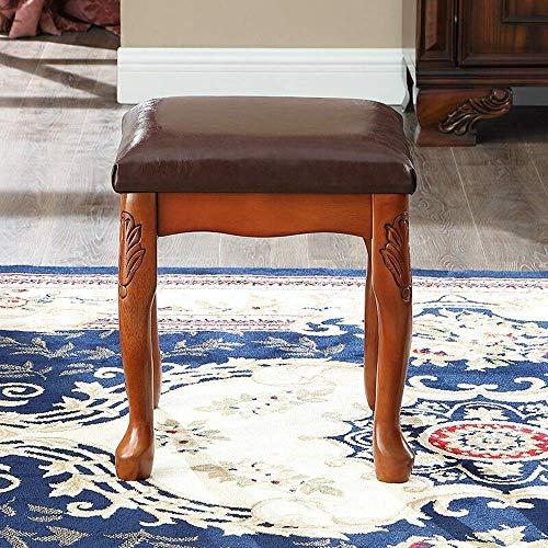 NBVCX Decoración de Muebles Toda la Madera Maciza Rendimiento Funcional Elegante Banco de Piano Taburete de tocador Taburete de Piano para el hogar Taburete de Piano Taburete de tocador