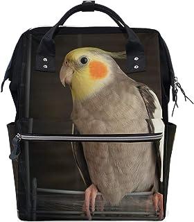 8013b9d4 Backpack Cockatiel Wire Bird Cage School Rucksack Diaper Bags Travel  Shoulder Large Capacity Bookbag for Women