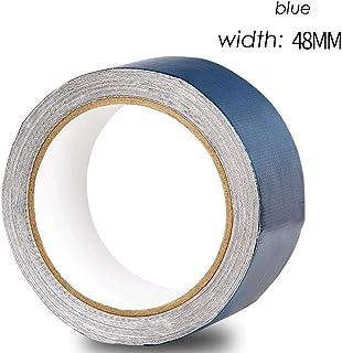 Tarpaulin Repair Tape - Self Adhesive Repair Tape Kit Canvas Crepe Waterproof Cloth Three Anti-Clothing Waterproof Tape Plastic Pe Woven Bag Blue Green
