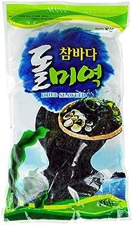 ROM AMERICA Korean Dried Seaweed Sea Mustard for Soup and Salad 100g (3.5oz) 부산 돌미역