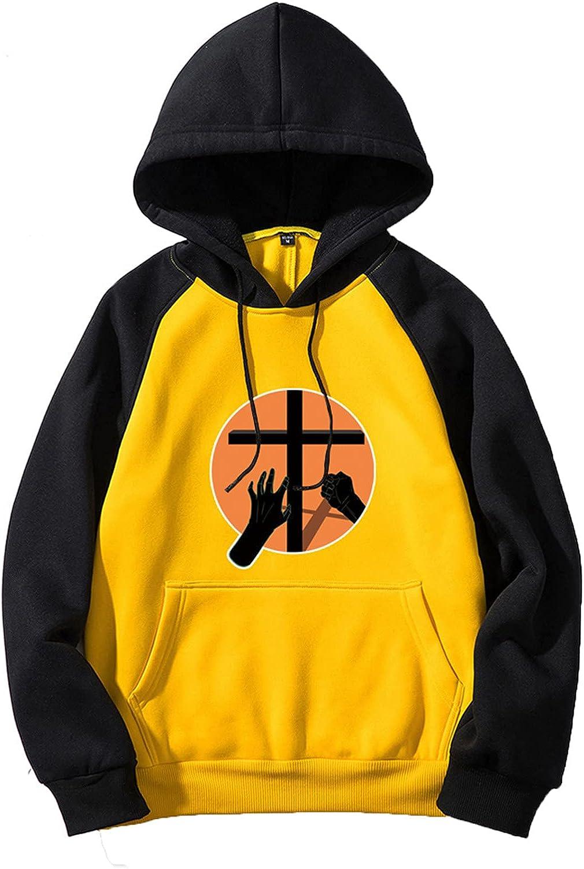 Bravetoshop 2021 Unisex Pullover Hoodies Halloween Printed Novelty Graphic Drawstring Hooded Sweatshirt