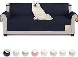 TAOCOCO Funda de sofá Impermeable Funda de cojín de protección para Mascotas Funda de sofá antisuciedad (Azul/ 4 Plazas 19...