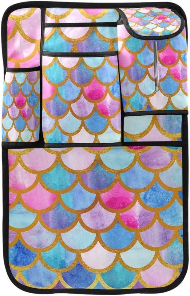 MCHIVER Minneapolis Mall Car Backseat Organizer - Scales Mermaid Summer Bright All stores are sold Ca