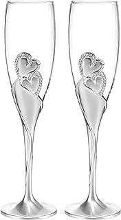 Best disney champagne flutes Reviews