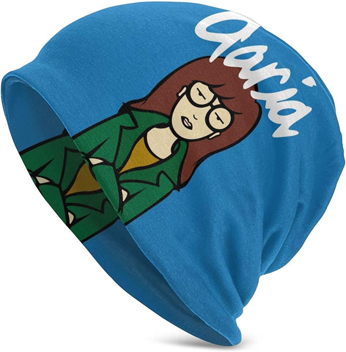 Amazon Com Ziantg Daria Cartoon Knit Beanies For Mens Womens Winter Hats Warm Hedging Caps Black Clothing