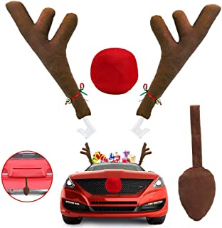 christmas antlers for cars