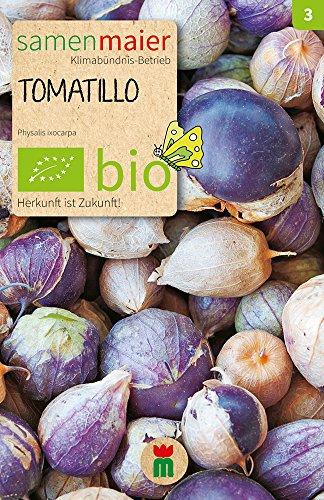 Samen Maier 907 Tomatillo Mischung violett-weiß (Bio-Tomatillosamen)