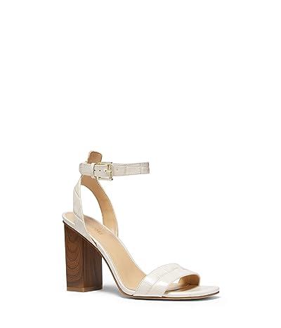 MICHAEL Michael Kors Petra Ankle Strap (Light Cream 1) Women