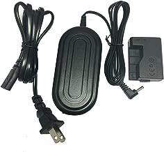 ACK-E10/ACKE10(LP-E10) Camera AC Power Adapter/Charger Kit ACK-E10 Plus DR-E10 for Canon EOS 1100D 1200D Rebel T3 and T5 Cameras