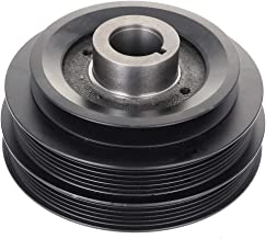 OCPTY Harmonic Balancer Crankshaft Belt Drive Pulley Fits 1997-2000 Infiniti QX4 1996-2000 Nissan Pathfinder