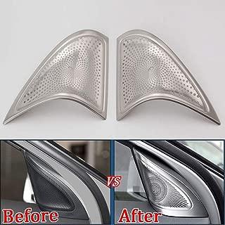 Stainless Steel Car Door Audio Speaker Cover Trim For Mercedes Benz CLA 2013-18