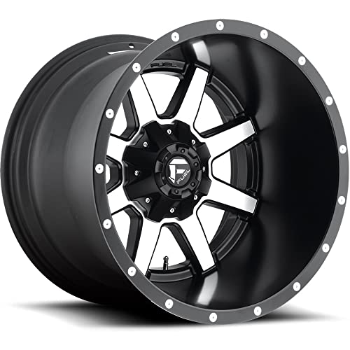 Fuel Machined Black Wheels Amazon Com