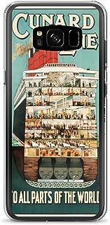 Vintage poster - Cruise Ship 1603 - Samsung Galaxy S8 Phone Case