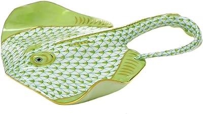 Amazon com: Herend Figurine Stingray Raspberry Fishnet: Home