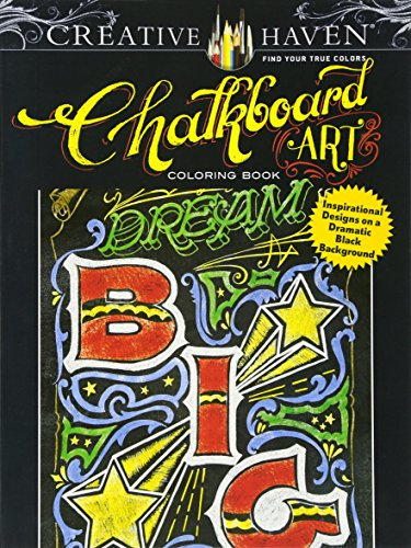 ebook download creative haven chalkboard art coloring book