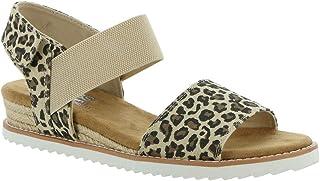 Skechers Bobs Desert Kiss-Tigers Eye Women's Sandal 7 B(M) US Leopard