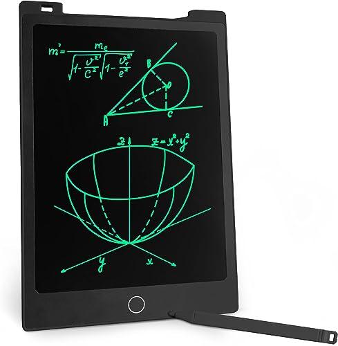Richgv® LCD Tablette D'écriture 11 Pouces, Tableau de Dessin Effaçable avec Bouton de Suppression, Bloc-Notes, Digita...