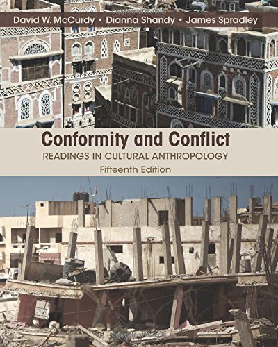 Download Conformity And Conflict: Readings In Cultural Anthropology 