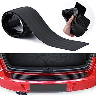 محافظ سپر عقب محافظ جهانی لنز سیاه و سفید مقاوم در برابر ضربه محکم و ناگهانی درب ورودی گارد لوازم جانبی کراوات trim برای SUV / اتومبیل (35.8 اینچ)