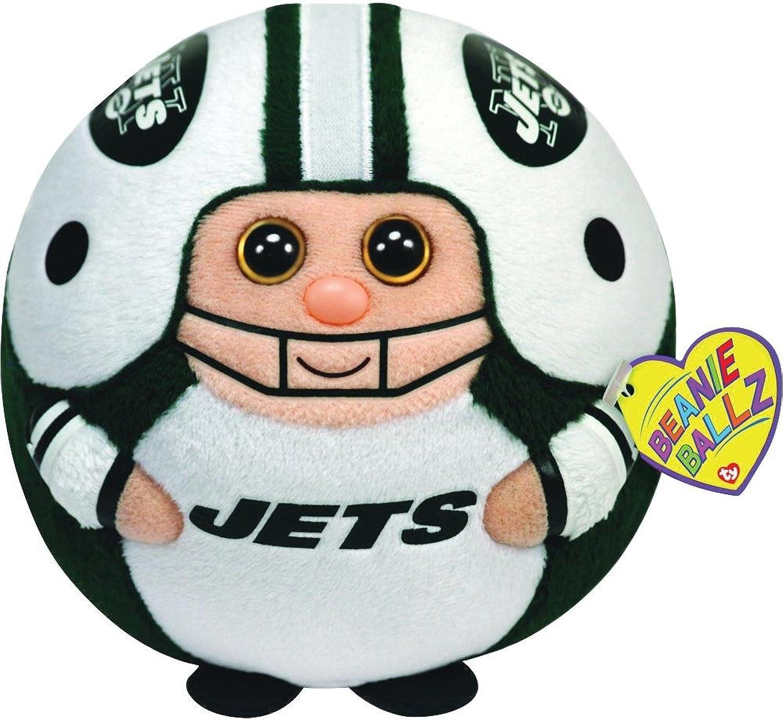 Ty Beanie Ballz 13 New York Jets Plush