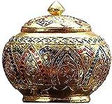 TREEECFCST URNS para Cenizas humanas Urnas Decorativas URNS para Cenizas humanas Tamaño Mediano - Mostrar urnas de entierro en casa