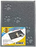 "ANDALUS Cat Litter Mat, Gray, Small (15.75"" x 11.75"")"