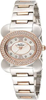 Charisma Women's White Dial Metal Band Watch - C6614D