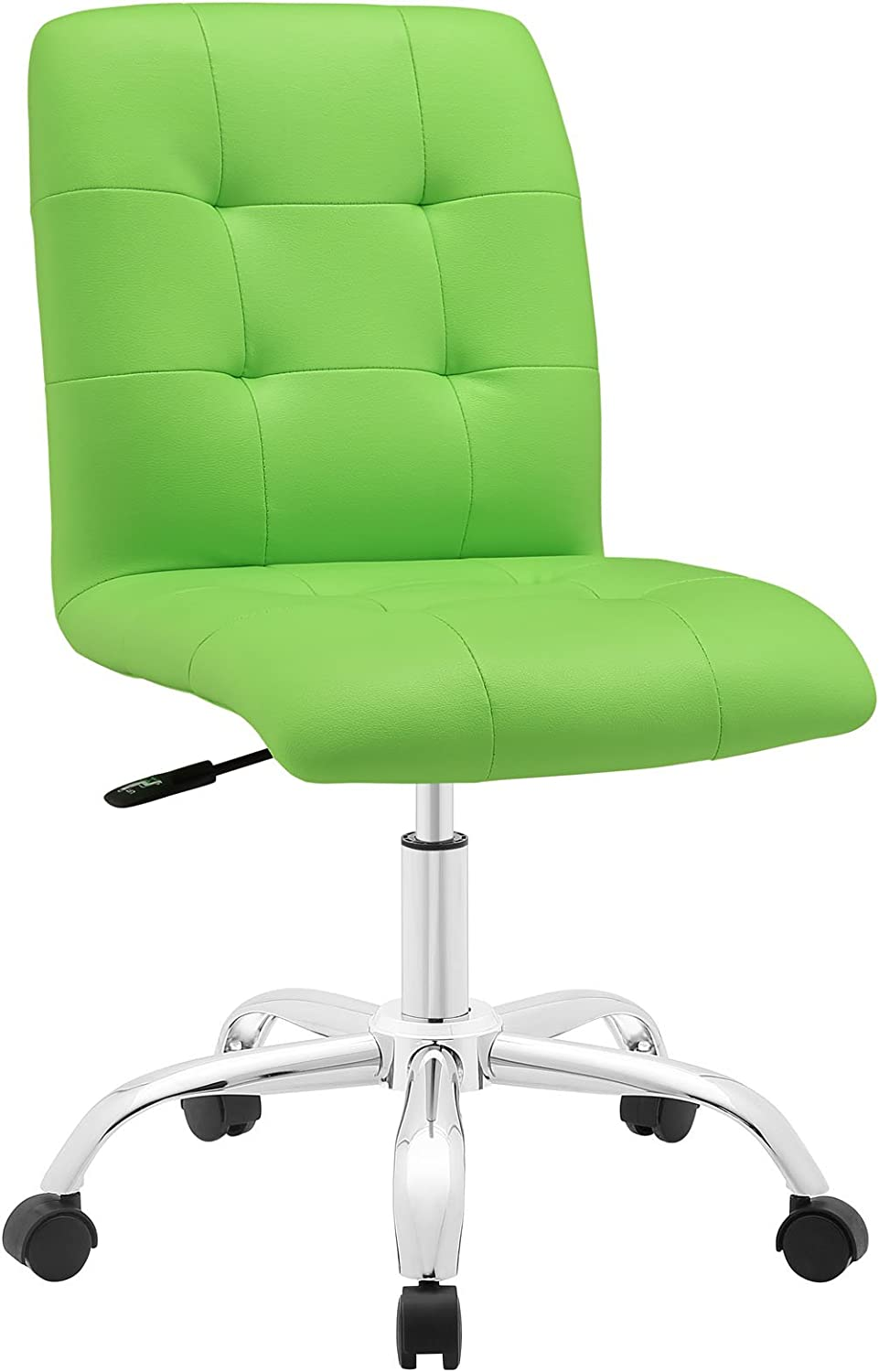 Modway Prim Mid Back Office Chair, Bright Green