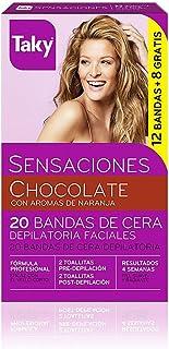 comprar comparacion Taky Depilación Banda Facial Chocolate, 10 unidades