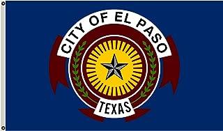 Fyon Texas Banner City of El Paso Flag 3x5ft
