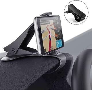 Modohe Soporte para Teléfono de Coche Montaje Móvil Universal Sujeta de Pinza Fuerte al Salpicadero para GPS Xiaomi Mi 9 Mi 8 Redmi Note 7 iPhone XR XS MAX X 8 7 6 S10 S9 Huawei P20