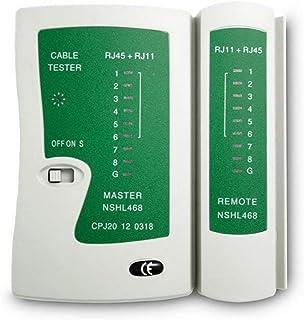Professionele Netwerkkabel Tester RJ45 RJ11 RJ12 CAT5 UTP LAN-kabel Tester Detector Remote Test Tools Netwerken Wit En Groen