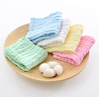 Excefore 10 Pcs Muslin Baby Swaddle Blankets, Bamboo Cotton Receiving Blankets for Boys and Girls Shower Gift Set Flamingo...