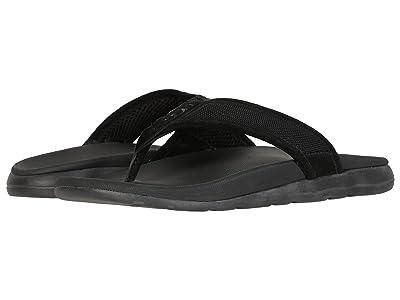 UGG Tenoch Ballistic Sandal (Black) Men