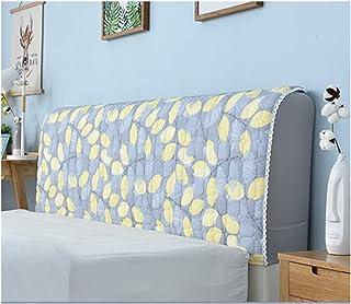 HDGZ Funda Protectora para Cabecero De Cama Tela Lado De La Cubierta A Prueba Polvo Lavable para La Decoración del Dormitorio (Color : S, Size : 120cm)